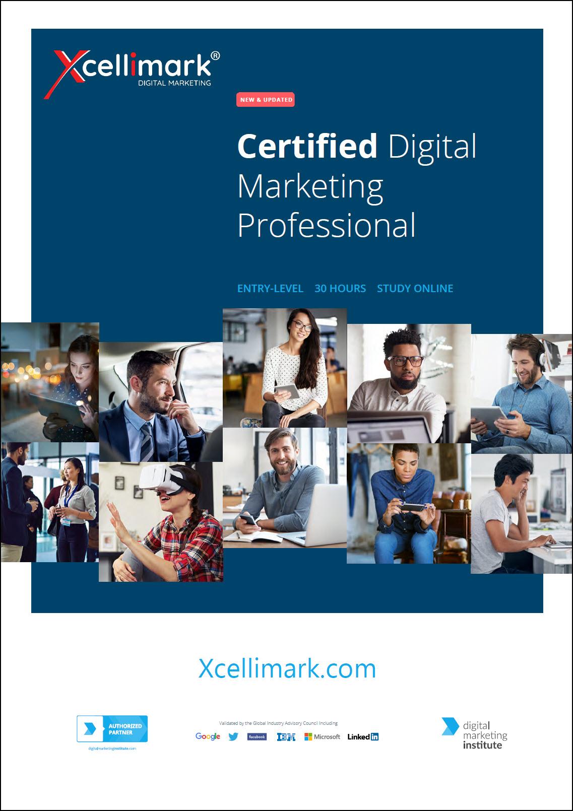 Certified Digital Marketing Professional Brochure