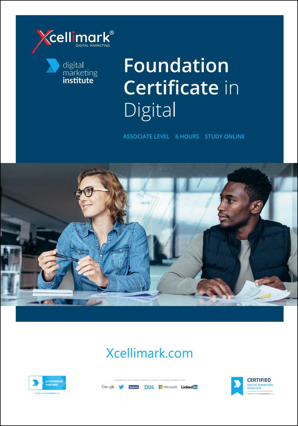 Foundation Certificate in Digital - Associate Level