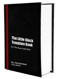 The Little Black Template Book - For the busy sales bee